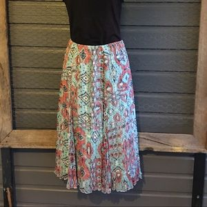 3/$25 Ruby Rd. Pleated skirt